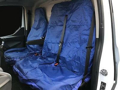 URBAN BLUE CAMOUFLAGE Camo Van Seat Covers Universal Fit Double - Single