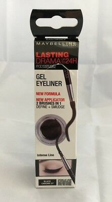 Maybelline New York Lasting Drama Gel Eyeliner Black Chrome 07