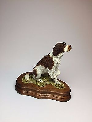 Wildtrack Limited Edition, Hand Painted Springer Spaniel (Brown) Figurine