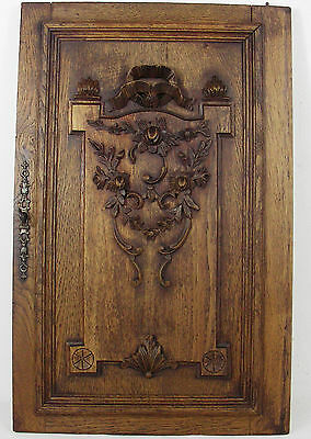 French antique door cabinet panel style LOUIS XVI