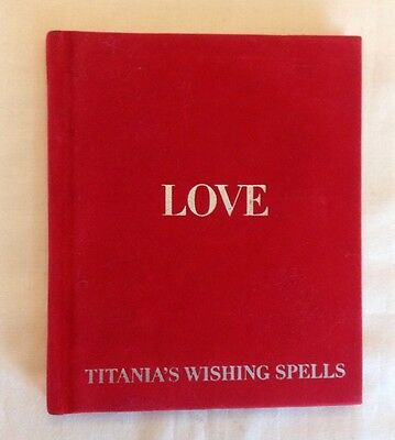 Book Of Wishing Love Spells By Titania's