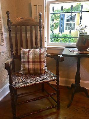 Early 1700s Antique Bannister Back Chair