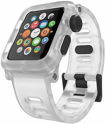 LUNATIK EPIK Polycarbonate Case and Silicone Strap for Apple Watch Series 1 C...