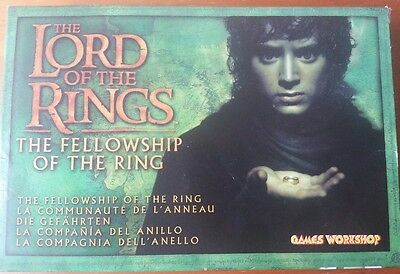 Lord of the Rings Boxed Figures metal fellowship of The Ring Games Workshop