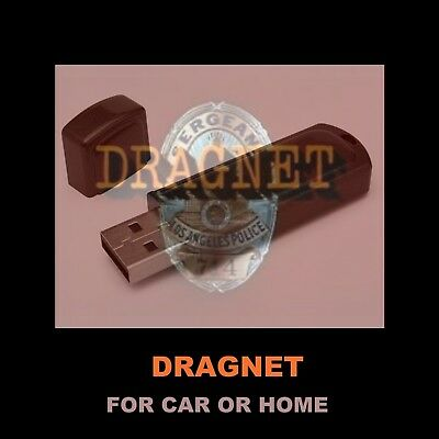 Enjoy 391 Dragnet Old Time Radio Shows In Your Car Or At Home!  Otr Detectives