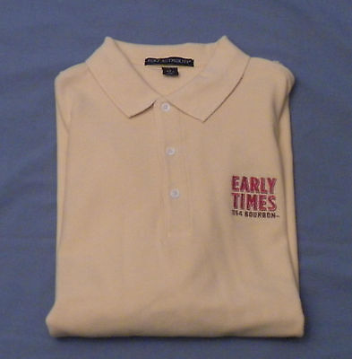 Early Times 354 Bourbon Large Yellow Polo