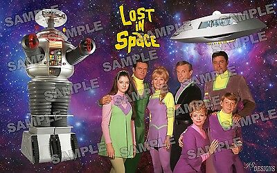 LOST IN SPACE TV series Fan Made Poster print 11 X 17