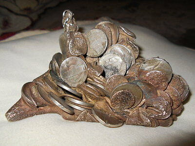RARE-ONE OF A KIND!Melted Coin PAPERWEIGHT
