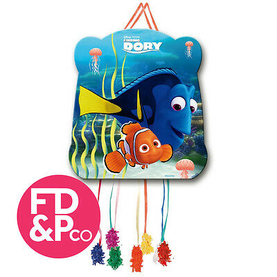 Dinsey Finding Dory Childrens Boys Birthday Party Pull String Kids Pinata