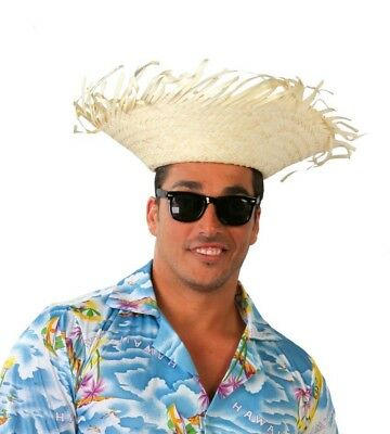 CAPPELLO TROPICALE IN paglia per travestimento hawaiano - EUR 2 02b9add94fcf