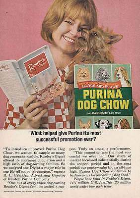 1964 Purina Dog Chow: Readers Digest (12908) Print Ad