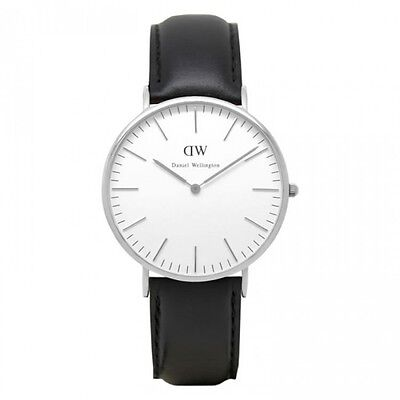 Daniel Wellington Classic Sheffield White Dial Men's Watch 0206DW (Only One Left