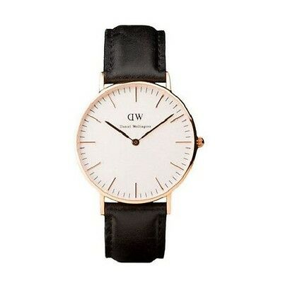 Daniel Wellington Classic Sheffield Rose White Dial Men's Watch  (Only One Left