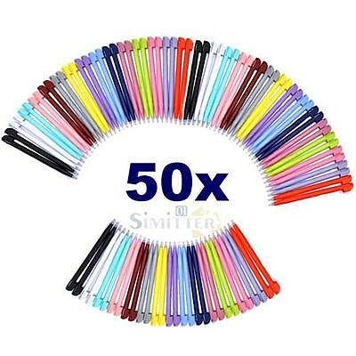 50x Multi Color Touch Screen Stylus Pen for NDS for NINTENDO DS 3DS Lite NDSL