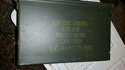 1 US Military Issued 50 CAL (M2A1) Ammo Can Box .50 Caliber Surplus Ammunition