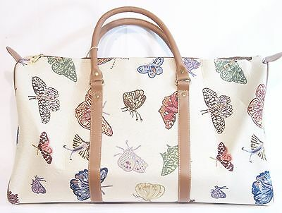 Butterfly design Tapestry Travel Gym or Overnight bag Signare