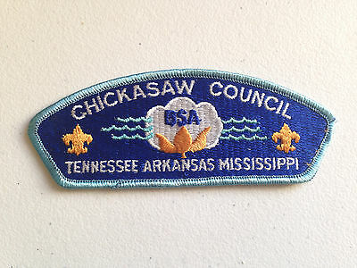Boy Scout Bsa Csp Council Patch Chickasaw Tennessee Arkansas Mississippi