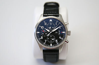 IWC Pilot's Watch Double Chronograph, IW377801, 46 mm