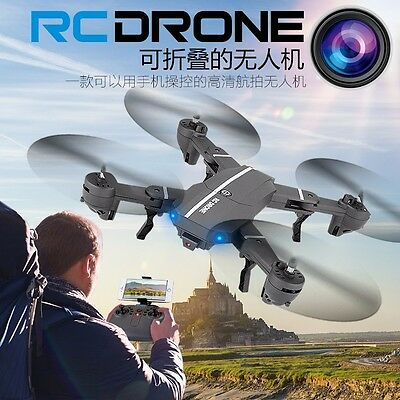 RC Quadcopter with WiFi FPV Live 2MP HD Wide Angle Lens Camera Drone 2.4Ghz