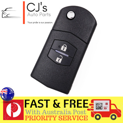 Mazda Flip 2 Button Remote Key Fob Case Replace Shell fit for MAZDA 3 5 6 KS