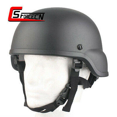 EMERSON Military Hunting Army Combat Tactical ACH MICH 2000 Helmet Black Helmets