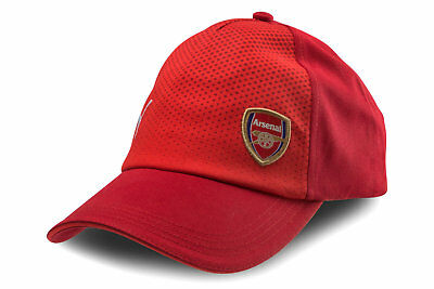 Puma Mens Arsenal 17/18 Support Sports Training Gym Fitness Football Cap