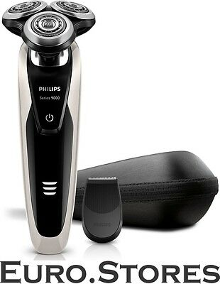 Philips S9041/12 Series 9000 Shaver Dual Voltage Wet&Dry SmartClick Genuine New