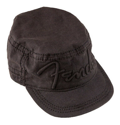 Fender Legion Militär Cap, schwarz, small-medium (NEU)