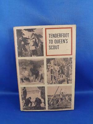 Tenderfoot To Queens Scout Book 1965 Boy Scouts Of Canada Requirements