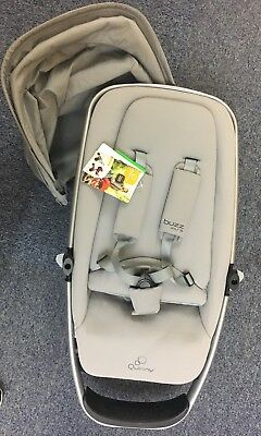 Stokke Xplory V5 Black Pushchair - GREY  MELANGE + FREE ICANDY NEWBORN GIFT SET