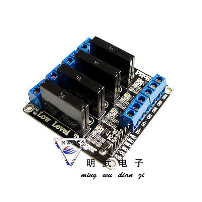 DC 5V 4-Channel High Level Trigger Solid State Relay Module Board Arduino PIC