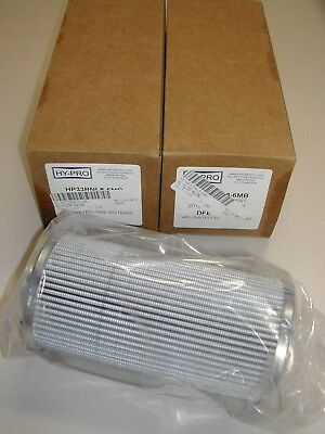 Lot of 2 Hy-PRO Hydraulic Filter Model HP33RNL8-6MB New In Box H7
