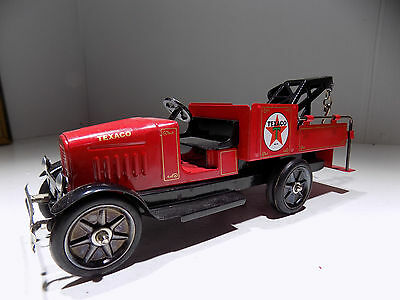 Buddy L Stamped Steel Texaco Tow Truck  MIB FIRST IN A SERIES  SOLD OUT EDITION