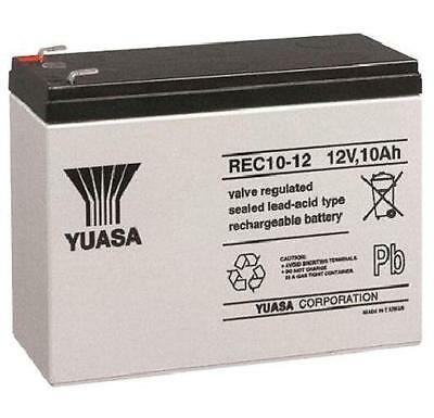 YUASA 12V 10Ah RECHARGABLE BATTERY- ELECTRIC BIKE