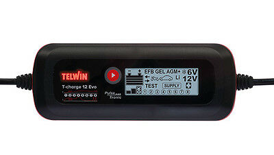 Telwin Caricabatteria t-charge 12v evo 807578