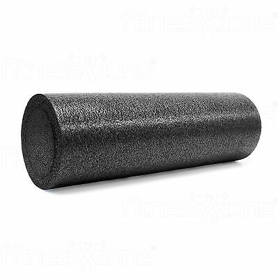 Foam Roller Yoga Massage Workout Exercise Rehab Physio Gym Therapy 15x45cm Black