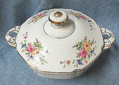 Heinrich H&Co STRASBOURG Pattern Covered Casserole Selb Bavaria Germany US Zone