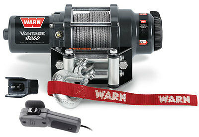 KW90384 MULTI-FIT WARN Vantage 3000 WINCH KAWASAKI