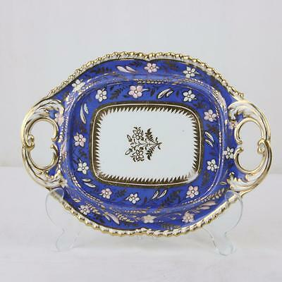 Antique Old Paris Porcelain Gilt and Painted Sauce Tureen Tray (only) Part