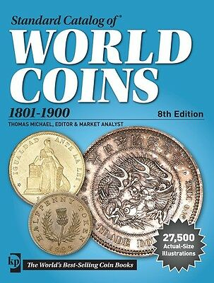 Standard Catalog of World Coins 1801-1900~8th Ed book~27,500 Life-Size Illus~NEW