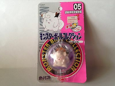Clefairy Pokemon Tomy Figure New In Package Japanese Release #05 *Rare*