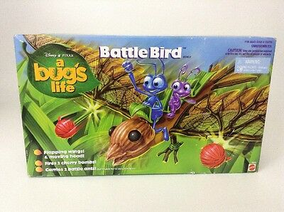 Mattel 1998 Disney Pixar A Bug's Life Battle Bird Toy Action Figures SEALED