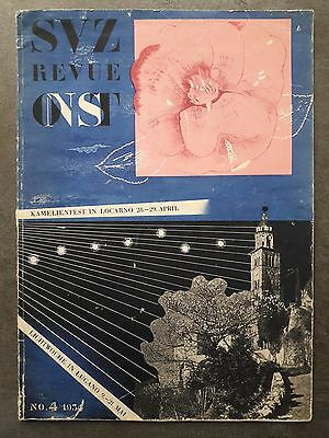 Revue de l'Office national Suisse du Tourisme n°4 (1934)
