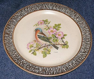 """Purbeck Pottery Chaffinch Plate Size: Approx 10 1/2"""""""