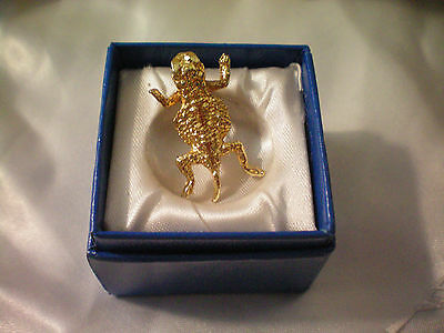 Horned/Horney Toad Lapel Pin