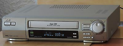 JVC HR-S8500 S-VHS Videorecorder Digital TBC N/R + Remote
