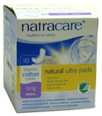 Natracare 3104 Ultra Long Pads 10 Count