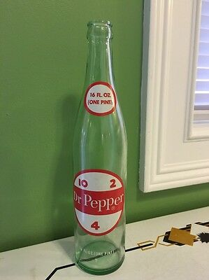Vintage Dr. Pepper Bottle 16 Oz