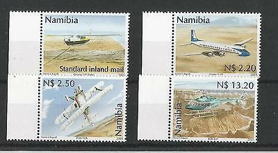 Namibia Sg882/5, 2001 Civil Aviation Mnh