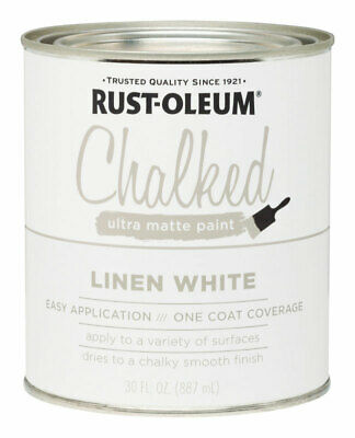 Rust-Oleum  Chalked  Linen White  Chalk Paint  1 oz.